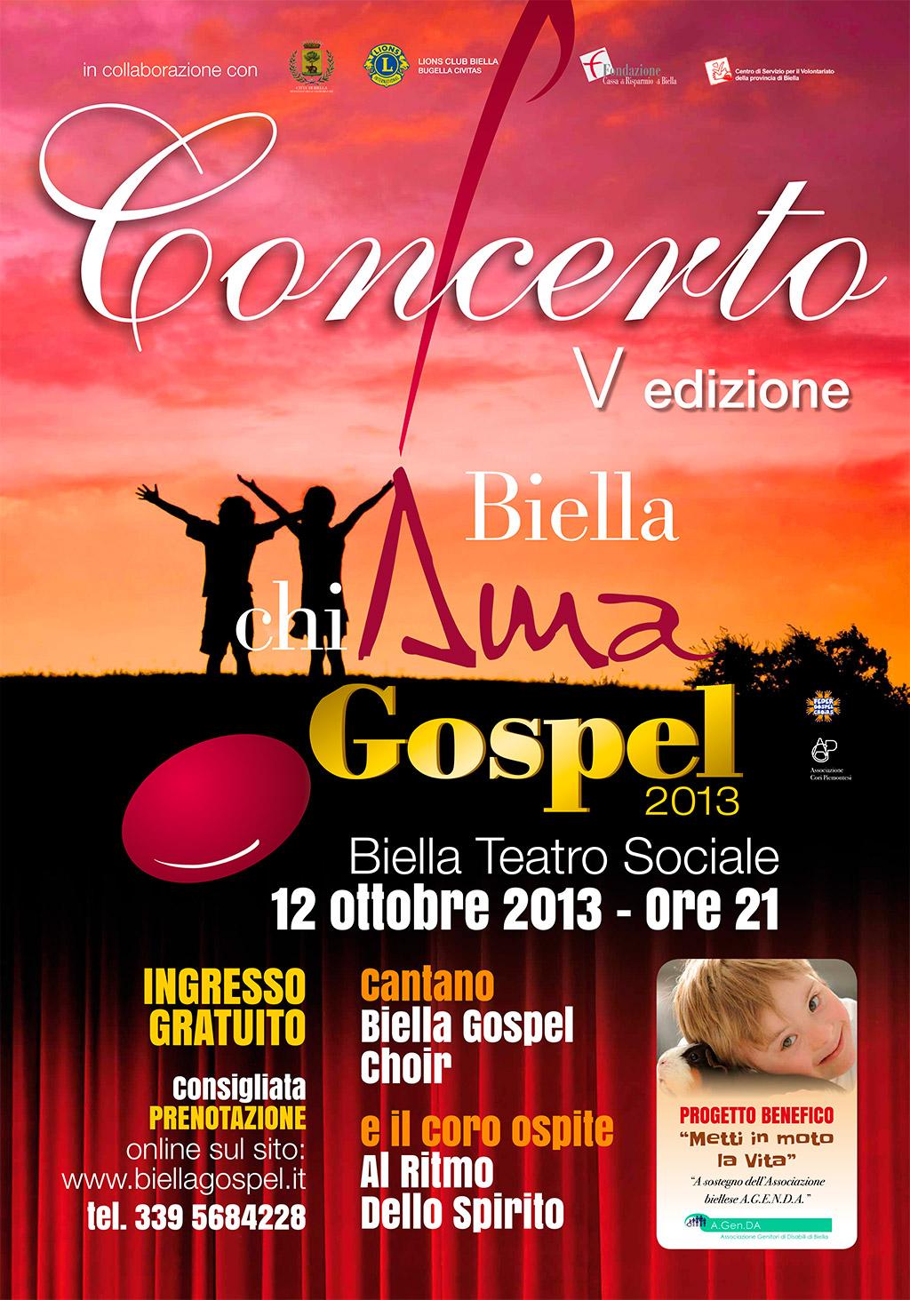 Biella chiAma Gospel 2013